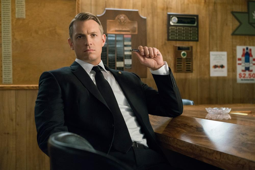 <p>Joel Kinnaman as Will Conway in Netflix' <em>House of Cards</em>. (Photo Credit: Netflix) </p>