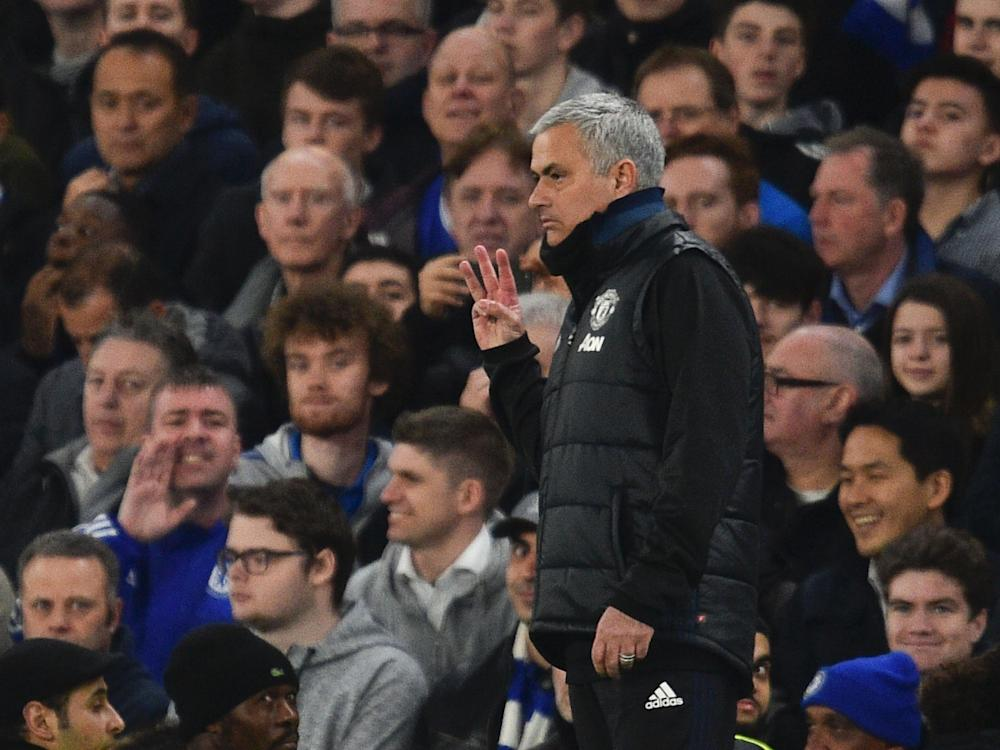 Mourinho claimed there was no extra significance in playing Chelsea: Getty