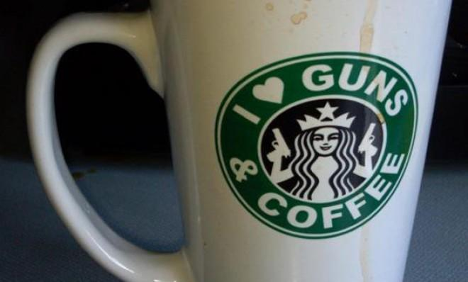 Starbucks employees in Virginia are in for a locked-and-loaded treat today.