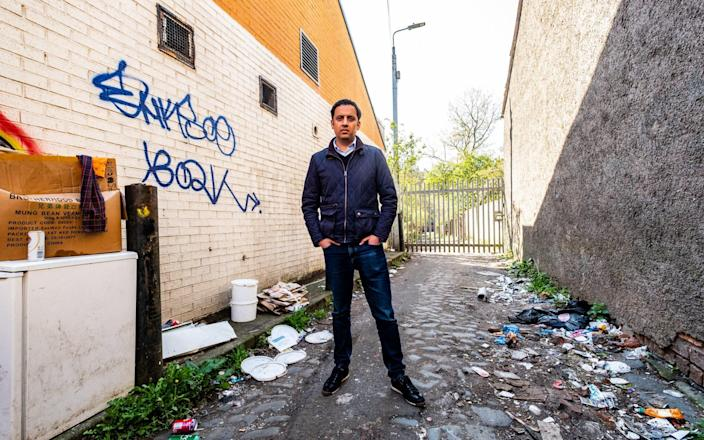 Anas Sarwar: When they heard that I was going to be visiting, they were ordered to go and do a clean up operation the night before. - Stuart Nicol
