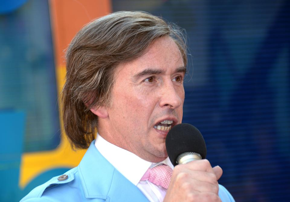 Steve Coogan is taking Alan Partridge on tour. (Photo by Jon Furniss/Invision/AP Images)