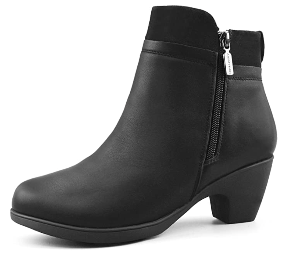 We bet these will be the comfiest ankle booties you'll ever own. (Photo: Amazon)