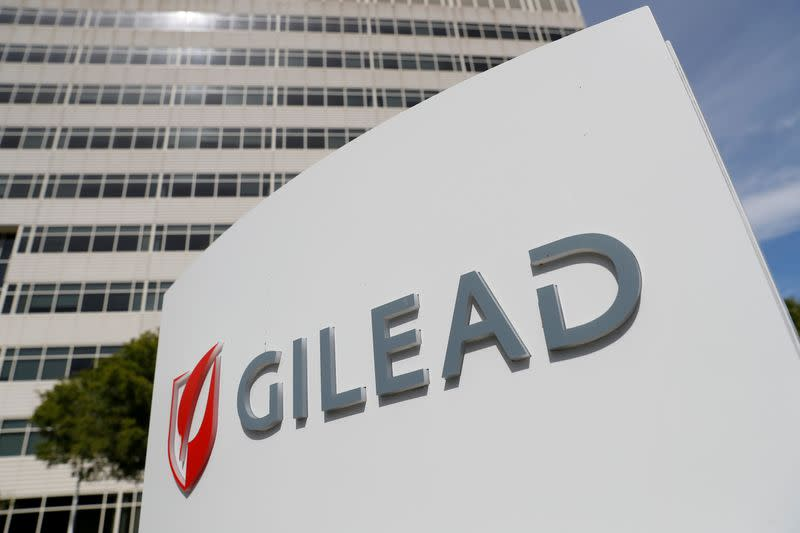 Gilead gains on report claiming COVID-19 drug effectiveness