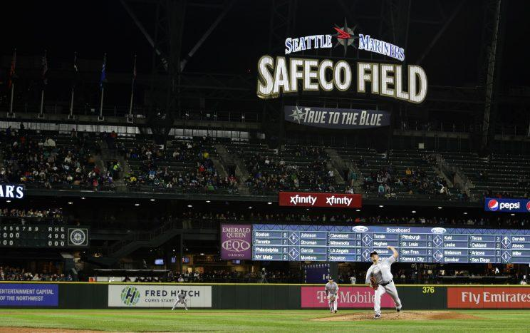 Safeco Field is the safest ballpark to sit down and have a meal. (AP Photo)