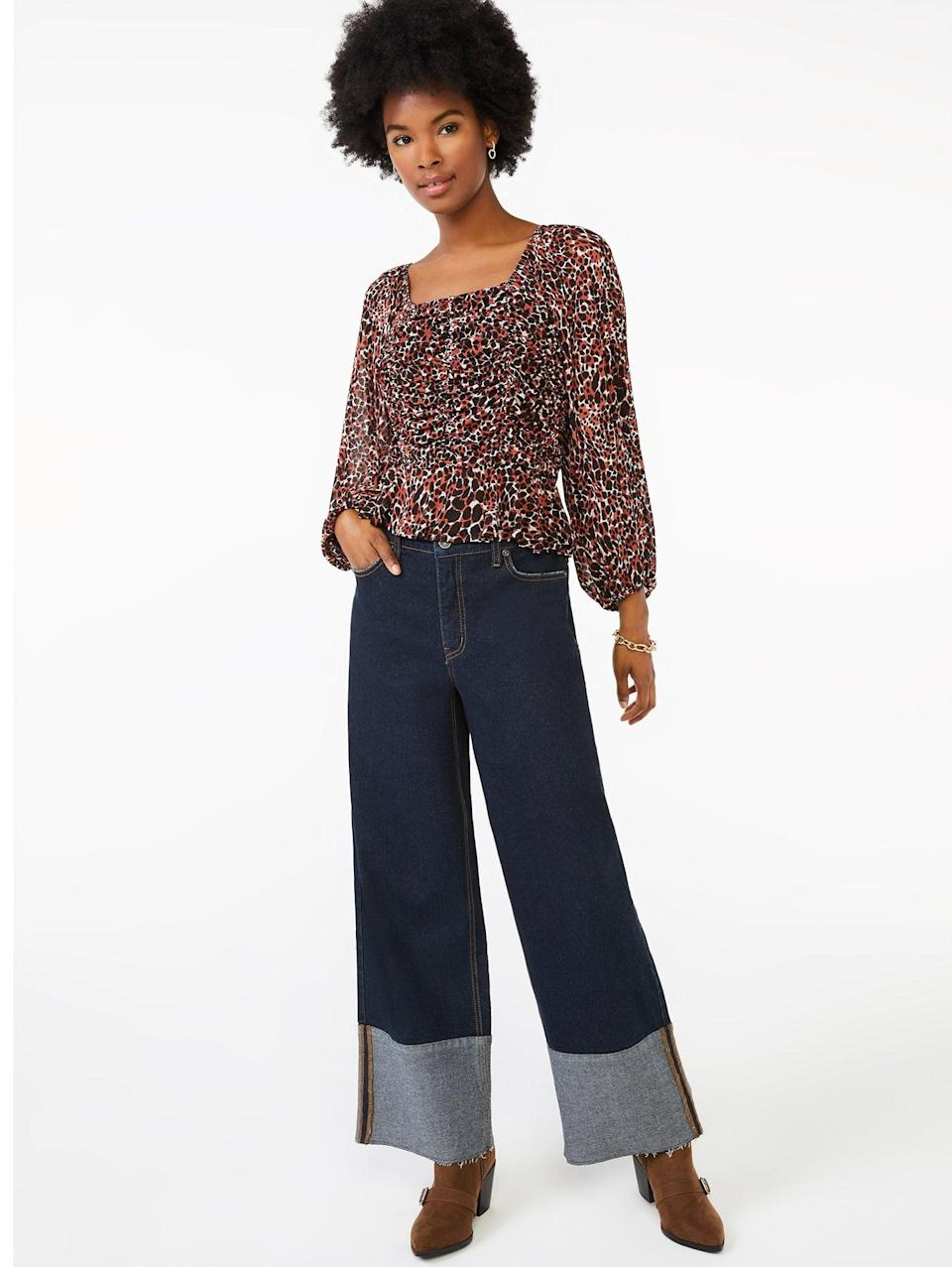 <p>These <span>Scoop Women's High-Rise Wide Leg Crop Jeans</span> ($26) look like they could be designer. Need we say any more?</p>