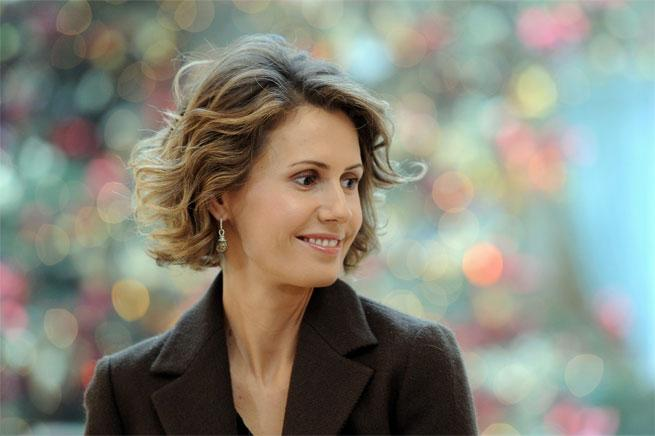 Asma Al-Assad Syria disowned by vogue