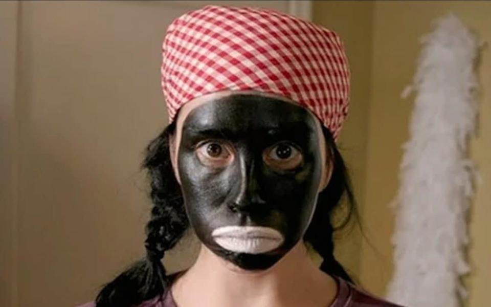 The US comedian Sarah Silverman in a skit from her 2007 Comedy Central show - Comedy Central