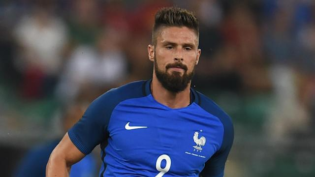 The Arsenal man is now in the top-10 France goalscorers, leading to praise from his national team coach