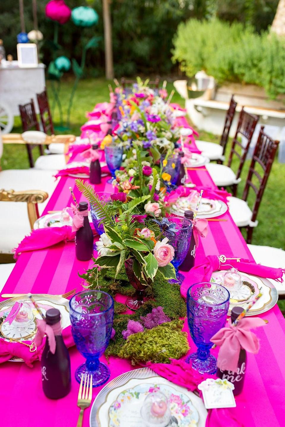 <p>If the bride has a big personality, she needs this colorful theme! Bold colors, bright accents, and brilliant accessories will take this idea to the next level. Pro tip: find cheeky cakes or candy to make this theme even sweeter.</p>
