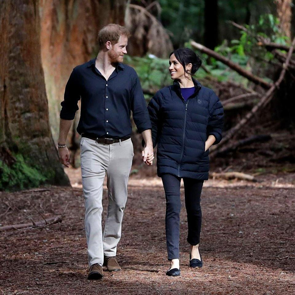 Prince Harry and Meghan Duchess