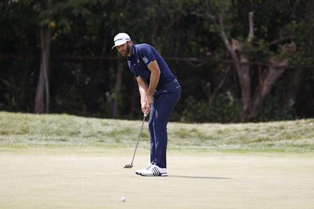 Golf Johnson Pipped After Unbelievable Putt Topped By Rahm S Monster