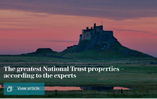 The greatest National Trust properties – according to the experts