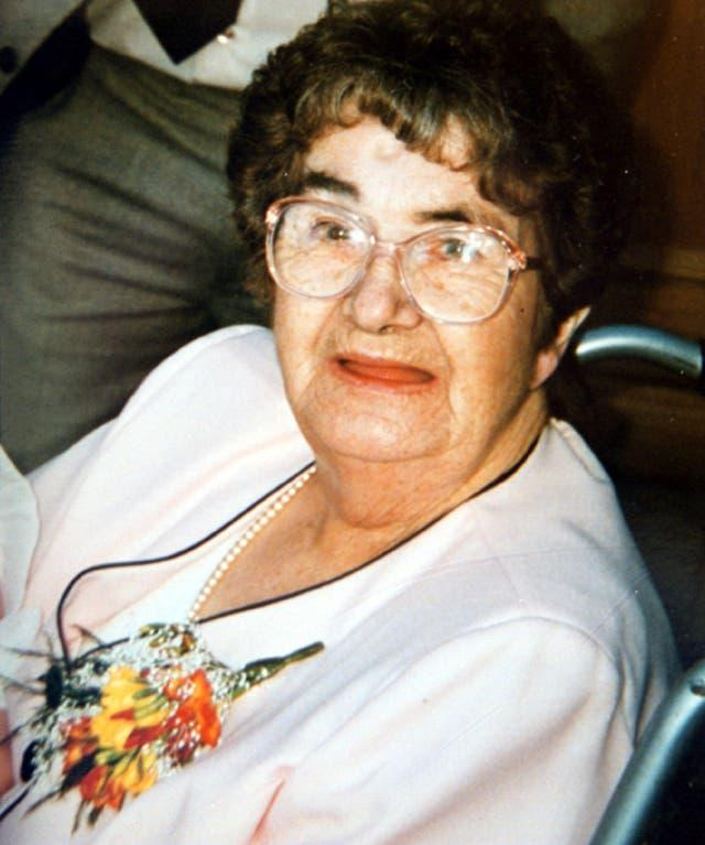 Doris Dawson died alongside her daughter and grandchildren at the hands of David Morris (Family handout/PA)