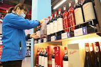 Other wine-exporting countries like Chile and France might see their market share increase
