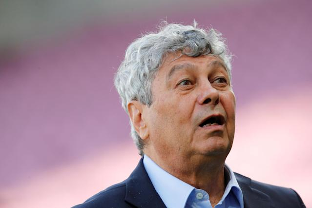 Soccer Football - International Friendly - Tunisia vs Turkey - Stade de Geneve, Geneva, Switzerland - June 1, 2018 Turkey coach Mircea Lucescu before the match REUTERS/Denis Balibouse
