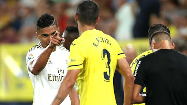 Real Madrid scraped a 2-2 draw at Villarreal on Sunday, with midfielder Casemiro left unimpressed by the performance.