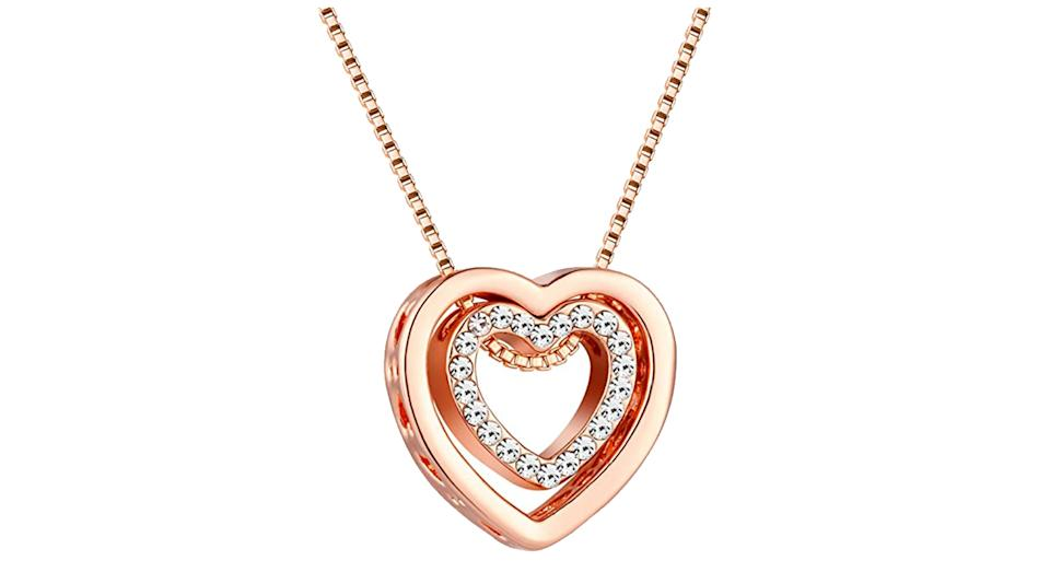 murtoo Heart Necklace for Women
