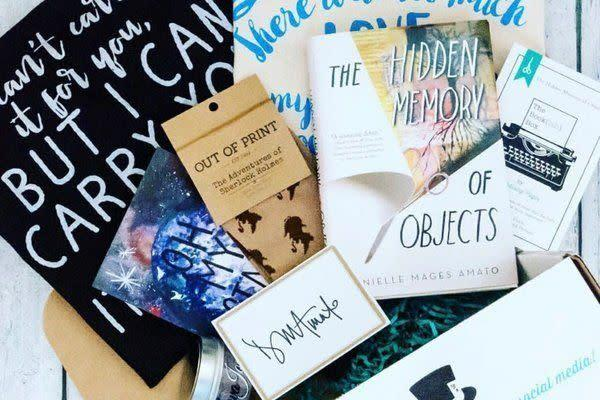 Starts at $18/month.A book box curated with bookish women in mind. Each box contains your choice of YA or adult novel and 3 to 5 literary goodies. Get <span>20 percent off with code <strong>BLKFRI</strong></span> at checkout.
