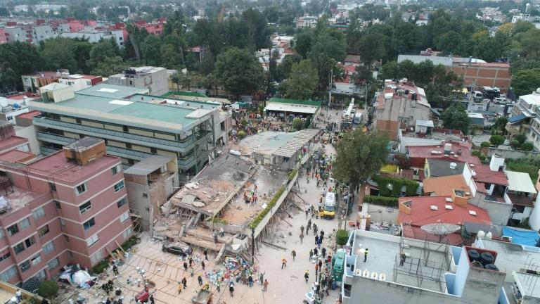 Rescue workers had told journalists they were certain a girl was alive in the rubble of the Enrique Rebsamen elementary school in Mexico City