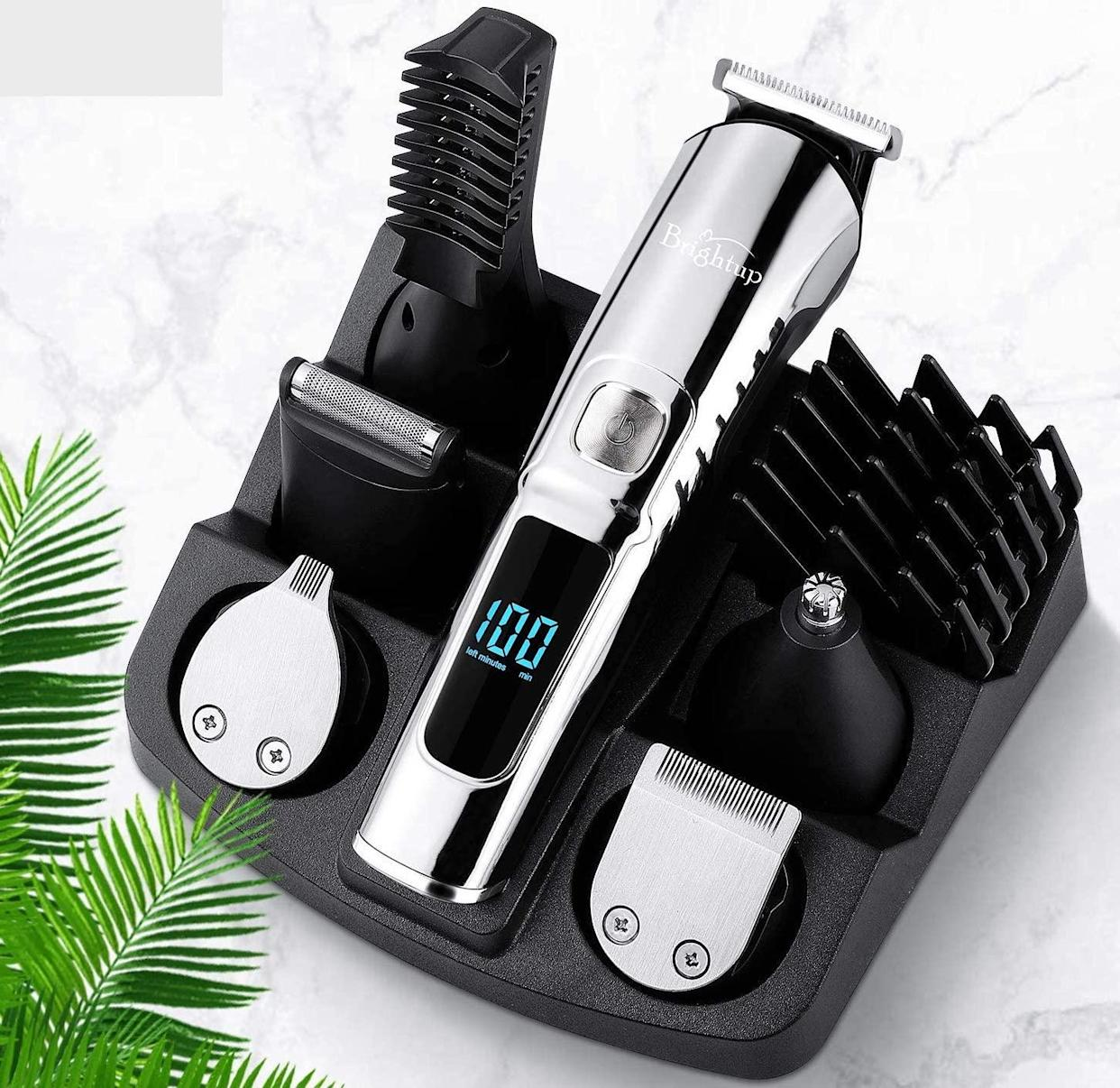 This clipper-trimmer combo has so many accessories to choose from. (Photo: Amazon)