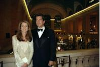 <p>John F. Kennedy Jr. and Caroline Kennedy resembled both of their parents in many ways, but it's their dark eyes and strong jawlines that made them look the most alike.</p>