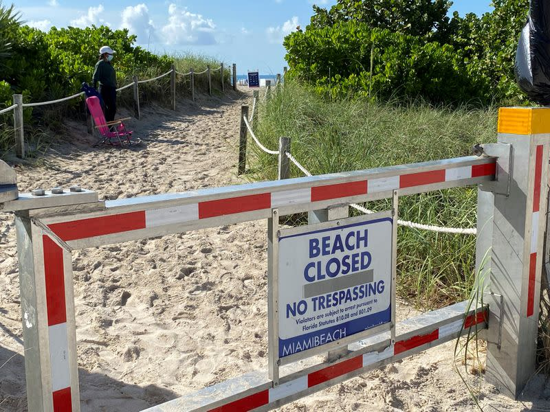 Florida reports over 15,000 COVID-19 cases in single-day record
