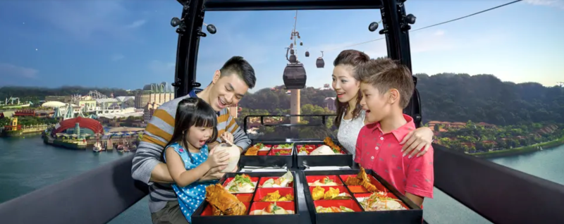 Cable Car Dining, S$153 (was S$169.50). PHOTO: Klook