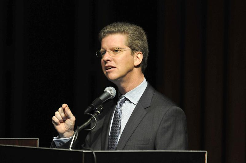 U.S. Secretary for Housing & Urban Development, Shaun Donovan speaks at The White House LGBT (lesbian, gay, bisexual, transgender) Conference on Housing & Homelessness held at Wayne State University, on Friday, March 9, 2012, in Detroit.  (AP Photo/The Detroit News, Max Ortiz) DETROIT FREE PRESS OUT-HUFFINGTON POST OUT-NO MAGS-NO SALES-NO ARCHIVE-MANDATORY CREDIT