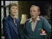 "<p>A duet that dreams are made of: Bing Crosby and David Bowie's unique blend of two Christmas songs was released in 1983.</p><p><a href=""https://www.youtube.com/watch?v=ADbJLo4x-tk"" rel=""nofollow noopener"" target=""_blank"" data-ylk=""slk:See the original post on Youtube"" class=""link rapid-noclick-resp"">See the original post on Youtube</a></p>"