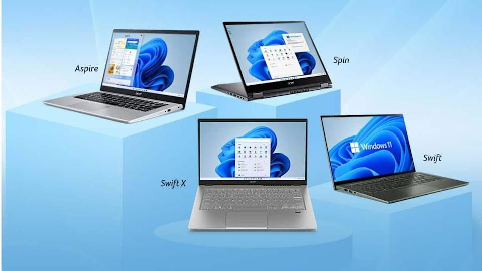 Acer launches six laptops in India with Windows 11 OS
