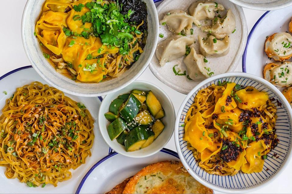 <p>Pilgrimage-worthy: the collaboration offers a  joyous melding of Xi'an, Sichuan and Shanghainese cuisines</p> (Heydon Wong)