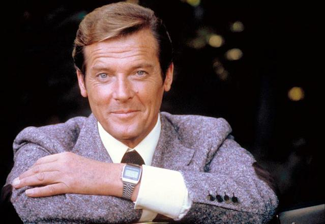 Roger Moore for <em>Moonraker</em>. (Photo: United Artists/Courtesy: Everett Collection)