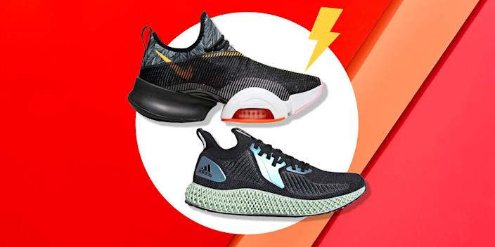 """<p>Your workout is only as good as the shoes on your feet. That's especially true when it comes to cross-training, which calls for all kinds of movement: front to back, side to side, up and down, you name it. If you're going to go HAM in a <a href=""""http://b.xfreeservice.com/redir/clickGate.php?u=8otB939m&m=12&p=3b121G4eNI&t=33&splash=0&s=&url=https%3A%2F%2Fwww.womenshealthmag.com%2Ffitness%2Fg30985585%2Fhiit-workout-at-home%2F"""" rel=""""nofollow noopener"""" target=""""_blank"""" data-ylk=""""slk:HIIT"""" class=""""link rapid-noclick-resp"""">HIIT</a> or <a href=""""http://b.xfreeservice.com/redir/clickGate.php?u=8otB939m&m=12&p=3b121G4eNI&t=33&splash=0&s=&url=https%3A%2F%2Fwww.womenshealthmag.com%2Ffitness%2Fa20703397%2Fboot-camp-workout%2F"""" rel=""""nofollow noopener"""" target=""""_blank"""" data-ylk=""""slk:bootcamp workout"""" class=""""link rapid-noclick-resp"""">bootcamp workout</a>, you need a shoe that can handle everything from box jumps and <a href=""""https://www.womenshealthmag.com/fitness/g28638621/best-cardio-machines/?utm_campaign=womheal-2020-tradetracker&utm_medium=affiliate&utm_source=tradetracker&utm_term=137180"""" rel=""""nofollow noopener"""" target=""""_blank"""" data-ylk=""""slk:cardio machines"""" class=""""link rapid-noclick-resp"""">cardio machines</a> to weight lifting. Not only will the right shoes enhance your performance, but a secure and comfortable fit can help you prevent injury, too. </p><p>But what should you look for in a pair of cross-training shoes? """"I think it's important to find a sneaker that provides a moderate amount of cushion and support without feeling bulky or like you're wearing clown shoes,"""" says Lindsey Clayton, a trainer at <a href=""""https://www.barrysbootcamp.com/"""" rel=""""nofollow noopener"""" target=""""_blank"""" data-ylk=""""slk:Barry's Bootcamp"""" class=""""link rapid-noclick-resp"""">Barry's Bootcamp</a> and co-founder of <a href=""""http://bravebodyproject.com/"""" rel=""""nofollow noopener"""" target=""""_blank"""" data-ylk=""""slk:Brave Body Project"""" class=""""link rapid-noclick-resp"""">Brave Body Project</a>. """"My biggest pet peeve is"""
