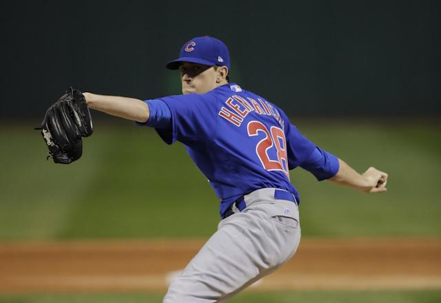 Here's your NL ERA leader, Kyle Hendricks. (AP)