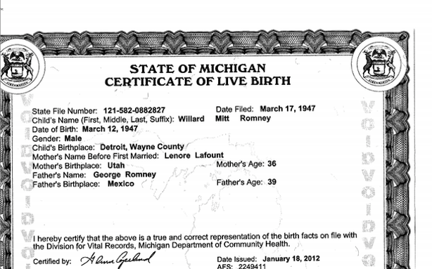 How do i get a birth certificate from michigan
