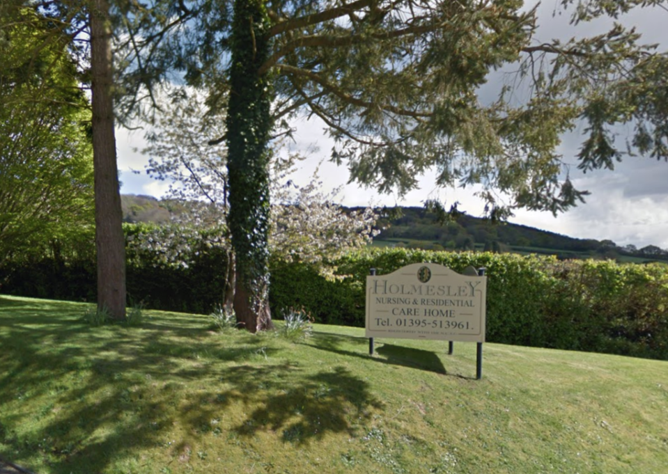The virus has spread among staff and residents at Holmesley Care Home. (Google Maps)