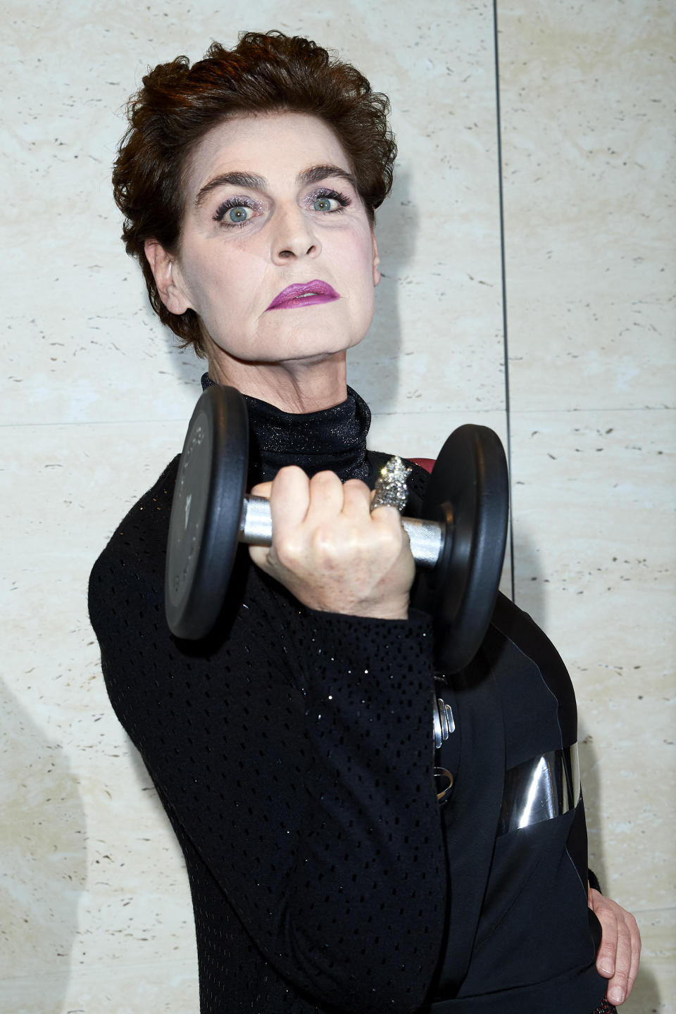MADRID, SPAIN - FEBRUARY 26:  Antonia Dell'Atte attends Technogym Wellness Store opening on February 26, 2019 in Madrid, Spain. (Photo by Carlos Alvarez/Getty Images)