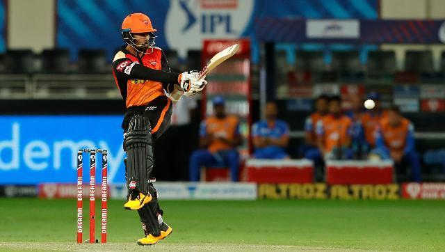 Wriddhiman Saha roared back to form in just his second match of IPL 2020 as Sunrisers Hyderabad crushed Delhi Capitals by 88 runs in the 48th match of the tournament in Dubai on Tuesday. In a surprise move, Saha replaced Jonny Bairstow in the playing XI and opened the innings with skipper David Warner. Saha scored a blistering 87 runs off just 45 deliveries. Sportzpics