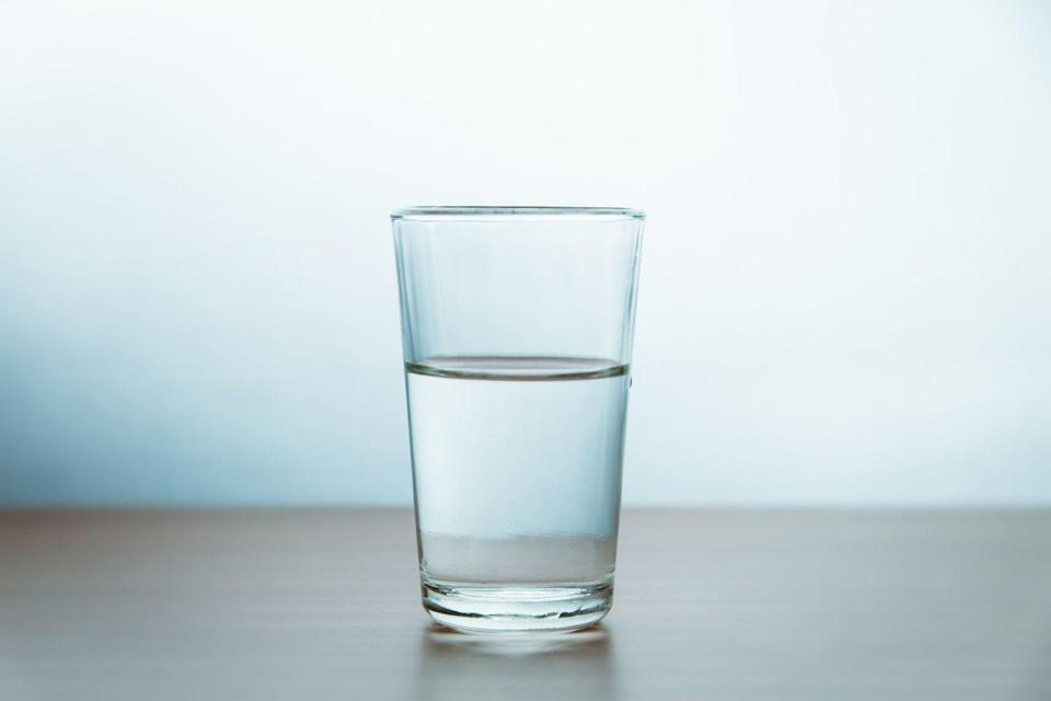 """<p>The eight glasses dogma has been around forever, but it's misleading. """"Getting enough water isn't just about drinking glasses of it but includes all the water in foods and drinks,"""" Los Angeles-based nutritionist Maggie Moon, RD, owner of <a href=""""http://www.maggiemoon.com/"""" rel=""""nofollow noopener"""" target=""""_blank"""" data-ylk=""""slk:Everyday Healthy Eating"""" class=""""link rapid-noclick-resp"""">Everyday Healthy Eating</a>, previously told <a href=""""https://www.womenshealthmag.com/health/g19935382/bogus-health-tips/"""" rel=""""nofollow noopener"""" target=""""_blank"""" data-ylk=""""slk:WH"""" class=""""link rapid-noclick-resp"""">WH</a>. </p><p>Water needs are pretty individual, but The <a href=""""https://www8.nationalacademies.org/onpinews/newsitem.aspx?RecordID=10925"""" rel=""""nofollow noopener"""" target=""""_blank"""" data-ylk=""""slk:National Academies of Sciences, Engineering, and Medicine"""" class=""""link rapid-noclick-resp"""">National Academies of Sciences, Engineering, and Medicine</a> generally recommends that women have around 11.5 cups of fluids a day, including from water, other beverages, and food.</p>"""