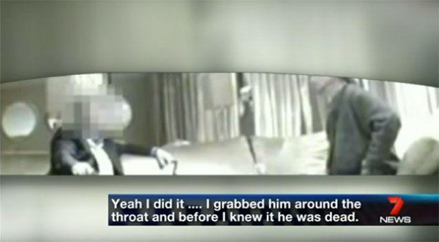 Brett Cowan confessed to killing Daniel Morcombe during a covert sting. Photo: 7 News