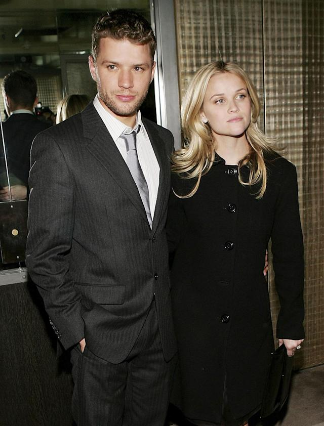Ryan Phillippe and Reese Witherspoon. (Photo: Getty Images)