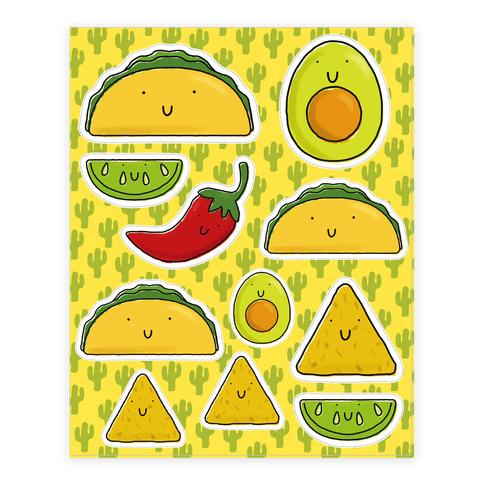 """<a href=""""https://www.lookhuman.com/design/77124-cute-mexican-food/sticker8x-whi-one_size"""" target=""""_blank"""">Shop it here</a>."""