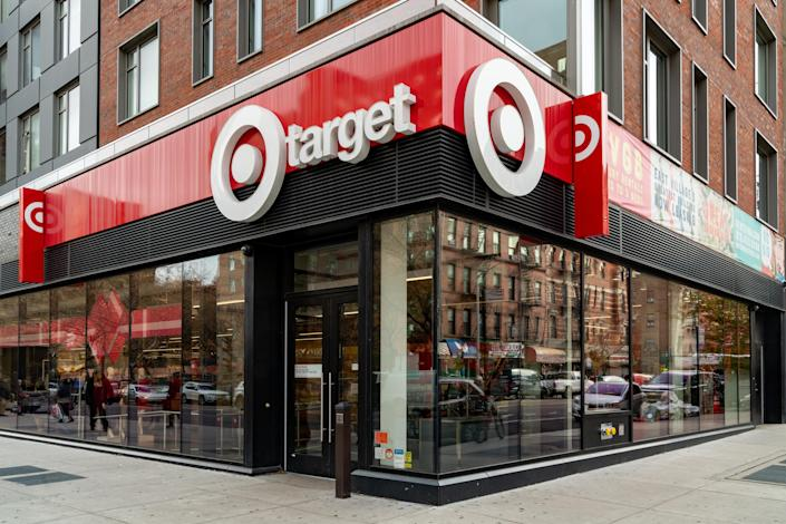 One of Target's new small format stores in New York City. (Photo by David Dee Delgado/Getty Images)