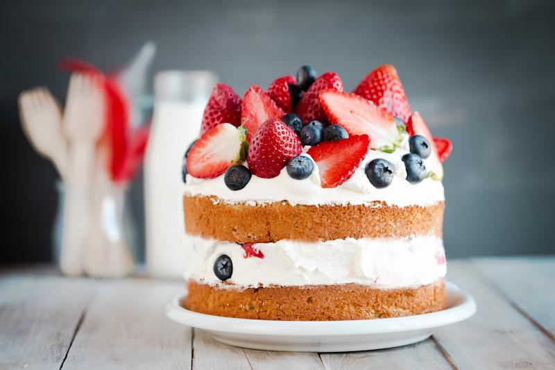 Unsurprisingly the Victoria Sponge featured high on the list. (Getty Images)