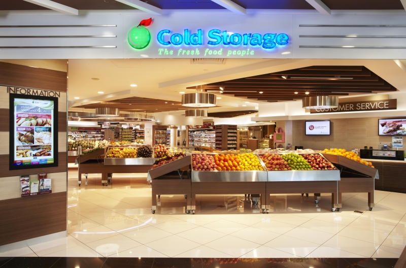 A Cold Storage outlet under Dairy Farms Singapore. (PHOTO: Dairy Farms Singapore)