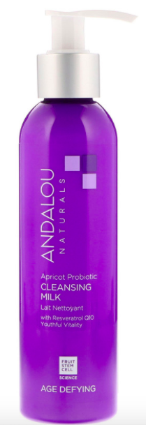 Andalou Naturals, Cleansing Milk, Apricot Probiotic, Age Defying, (178 ml), ₱512.37. PHOTO: iHerb
