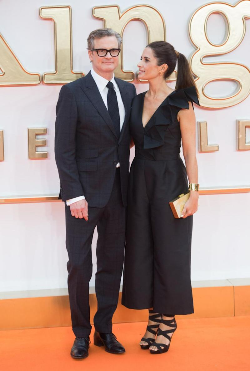 Colin Firth and his wife Livia Giuggioli have confirmed they separated a few years ago, and during that time Livia had a brief fling with another man. The pair are pictured here together in 2017. Source: Getty