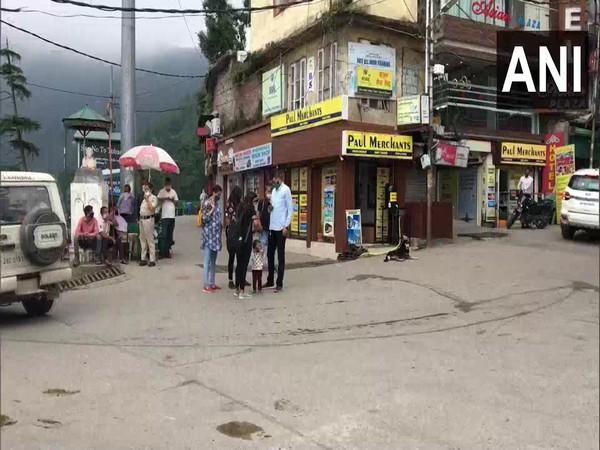 Tourists are not coming out due to the scare of COVID-19 in Mcleod Ganj (Photo/ANI)