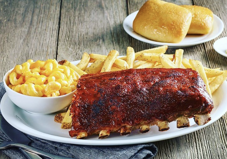 <p>Don't feel like cooking at home? Try O'Charley's Baby Back Ribs Family-Style Meal To-Go.</p>