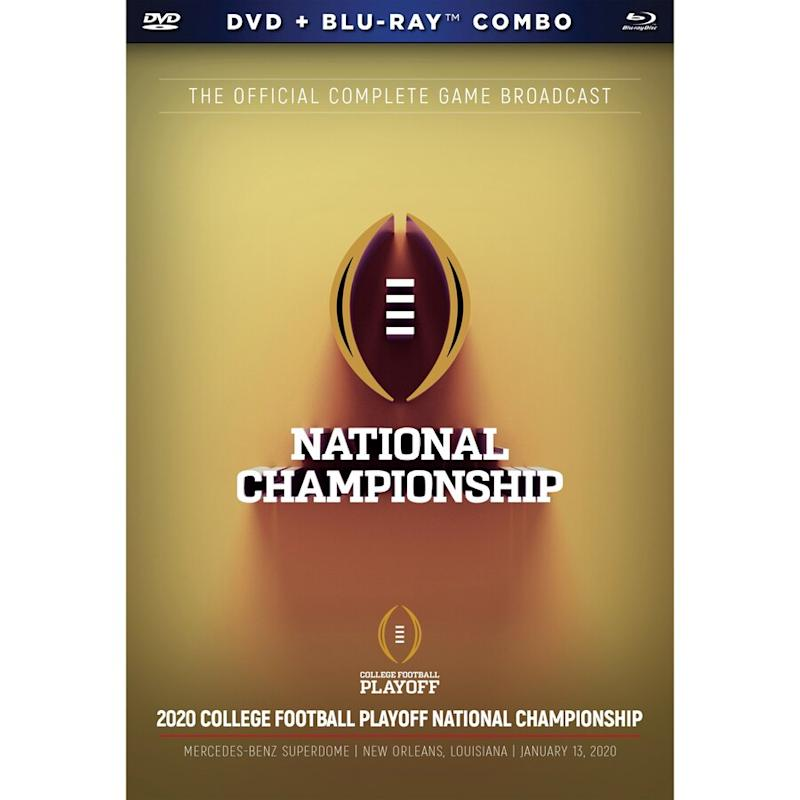 LSU College Football Playoff 2019 National Champions DVD & Blu-Ray Set